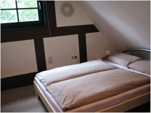 Fachwerk-Kate-Schlafzimmer 2